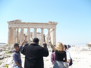 Prayer at Acropolis