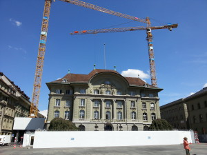 Building new vaults in the Swiss Central Bank