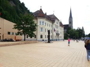 Vaduz parliament building