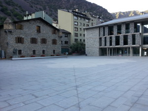Andorra's old and new parliament