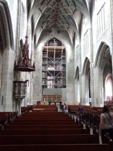 Renovation in the Münster Church