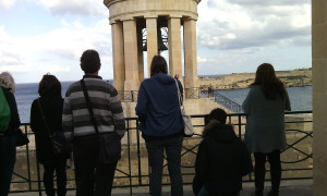 Praying at the Siege Bell