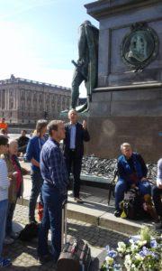 Gustav Adolfs Torg square