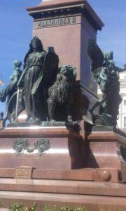 Lion on Central Square