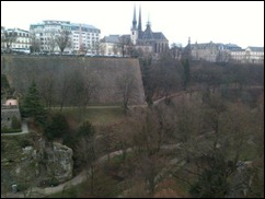 LUXEMBOURG city walls