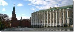 Borovitskaya Tower and Kremlin Armory